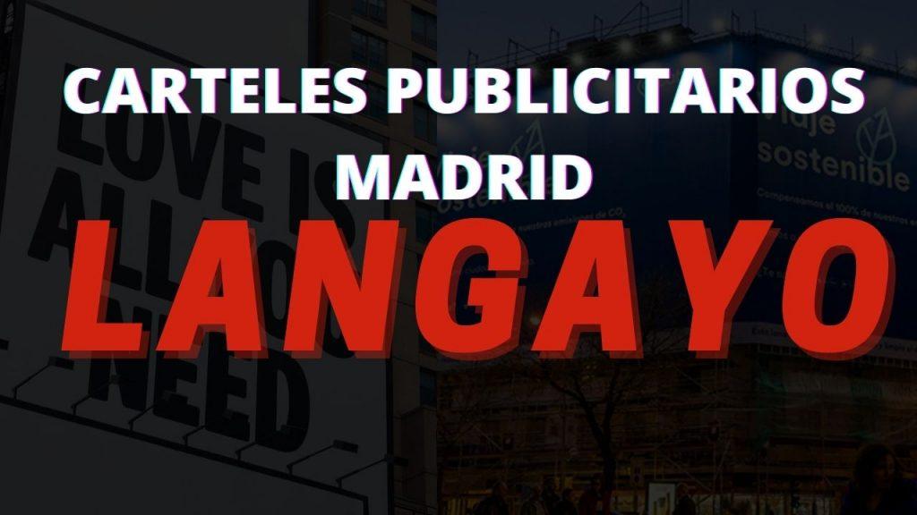 Carteles Publicitarios Madrid