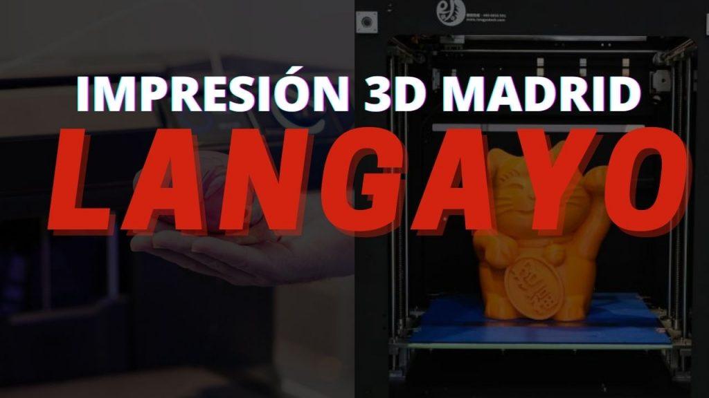 Impresión 3D Madrid
