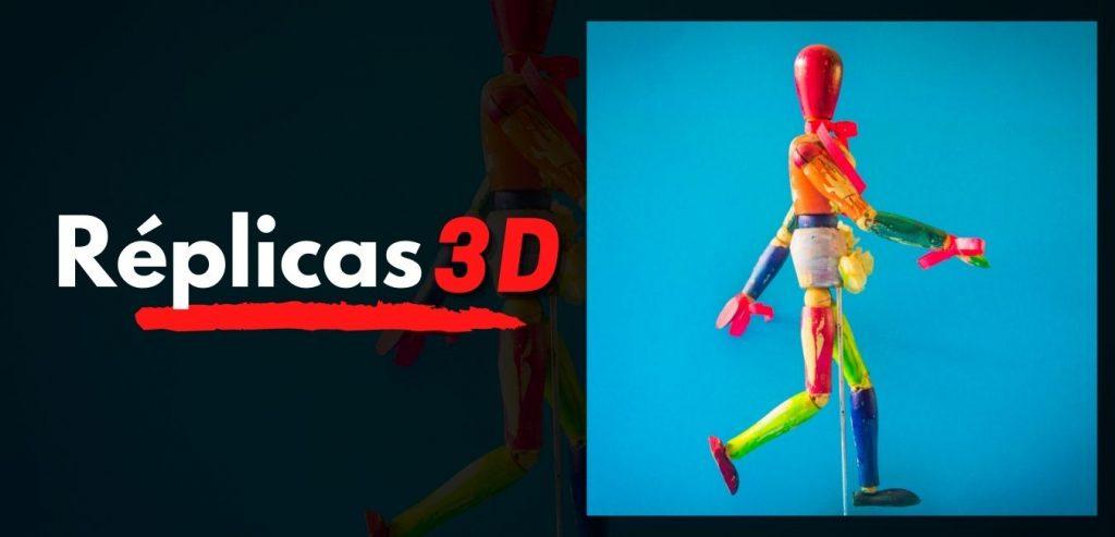 replicas de figuras 3d