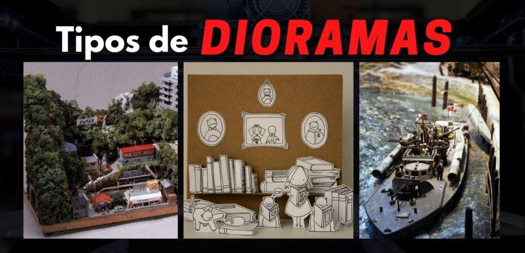 tipos de dioramas