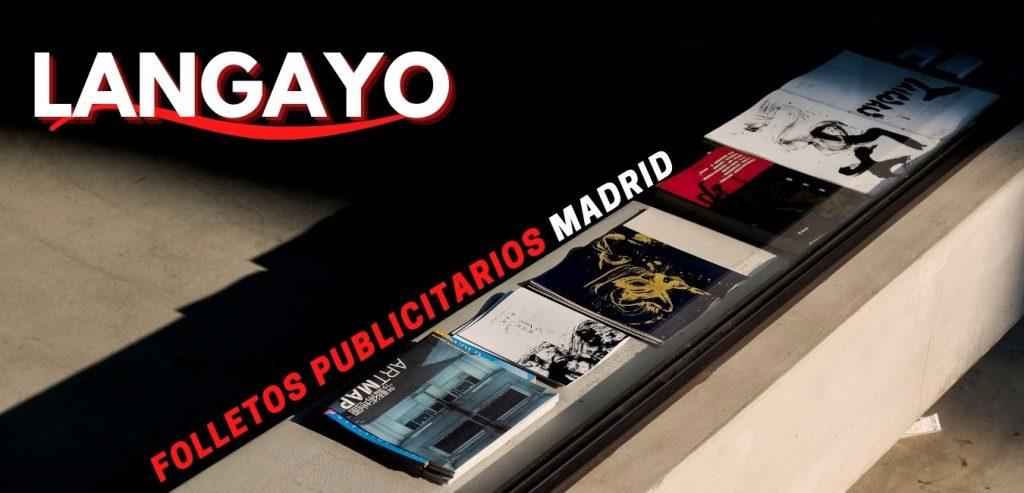Folletos Publicitarios Madrid