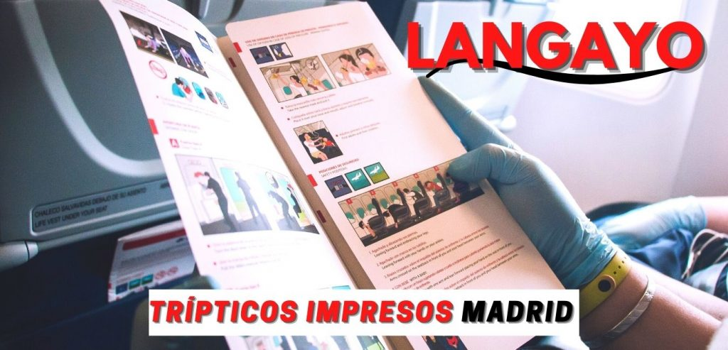 Trípticos Impresos Madrid