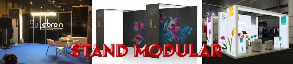 ejemplos de stands modulares