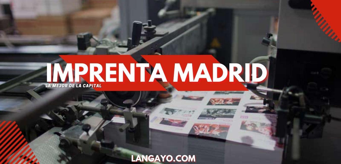Imprenta Madrid España