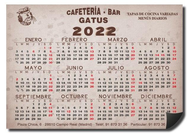 Calendarios Personalizados Completos