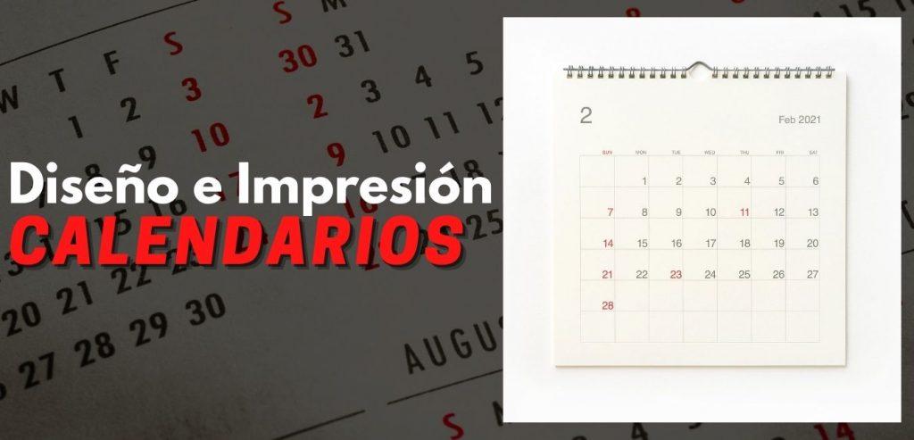 Diseñar Calendarios Madrid