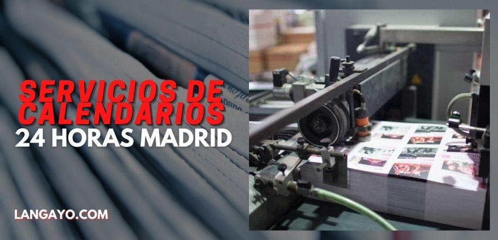 Donde hacer Calendarios personalizados en Madrid